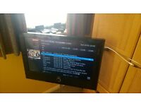 """Loewe Connect 26"""" LED - Chrome Stand internet Tv with Remote control"""