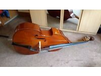 "Double bass - Stentor 3/4 ""1950"" student model"