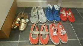 Shoes bundle brand new and used