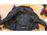 Akito motocycle jacket mint condition