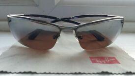 Rayban polarized sunglasses