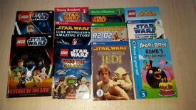 Star Wars, Angry Birds and Super Heroes Books.
