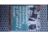 Edexcel A level History Nationalism Dictatorship and Democracy in 20th Century Europe