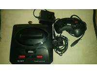 Mega drive 2 with 11 games