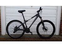 Saracen Instinct 7005 Aluminium Frame Hardtail Jump Bike