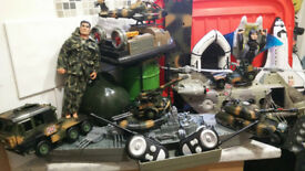 HUGE SELECTION OF MILITARY TOYS