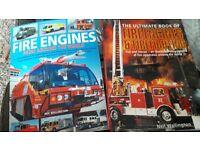 2 x fire engine books
