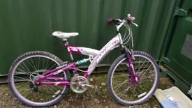 Woman's - teenagers mountain bike.