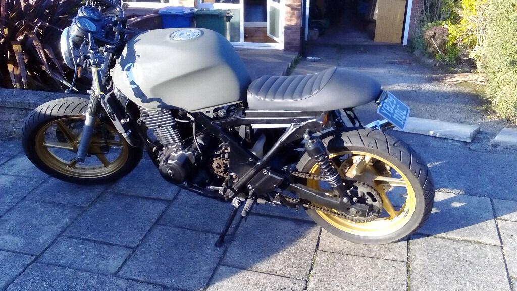 Honda CB500 Twin Cafe Racer