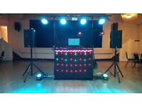 Professional Quality Disco for your event. Prices from £175