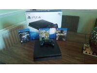Ps4 boxed 3 games