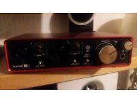 scarlett 212 2nd gen auduio interface