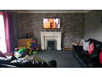 Three bedroom flat to let abronhill