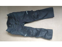 Spada men fabric motorbike trousers.