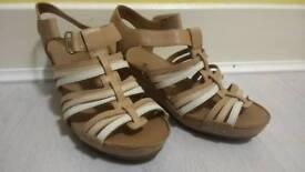 Clark artisan sandals