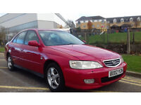HONDA ACCORD 2.0 AUTOMATIC EXECITIVE RED , 10 MONTHS MOT .TOYOTA .BMW.NISSAN