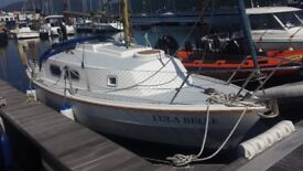 westerly t21 yacht