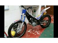 Sherco 250 2007 trials bike