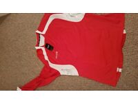 Brand New Mens Mitre Football Jersey Red& White £10