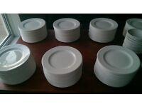 160 Buffet plates 7 inch diameter