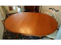 An original GPlan extendable dinning table
