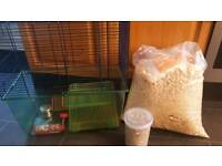 Gerbil/Hamster/Rat/Mice Cage and Accessories