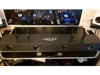 Lex DJ Moonflower LED and T bar lighting stand