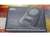 MBQUART PB12 Automotive Series Active Subwoofer Boxed Brand New Unused