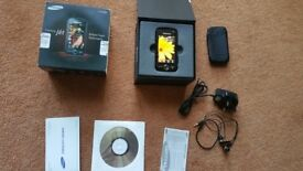Samsung JET S 8000 ROSE BLACK MOBILE PHONE
