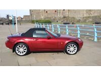 Mazda MX5 Copper Red 2007