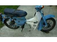 Honda c90 project x2