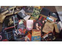 Job lot books - 65 in total