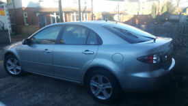 Mazda 6 TS 2.0 2006. 80k with Fully Stamped book showing a Full Service History