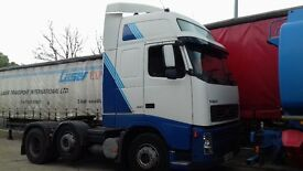 VOVLO FH12.460 AUTO MIDLIFT 6X2 TESTED 2 OWNERS 44000TONNE