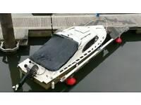 Shetland 535 boat and 30hp Tohatsu outboard