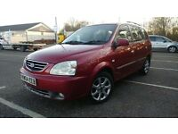 KIA CARNES LE AUTO 04 PLATE/7 MONTHS MOT/1 KEEPER/2KEYS/fully loaded £950