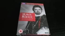 BLACKADDER THE COMPLETE SERIES DVD BOX SET NEW AND SEALED