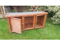 Rabbit Hutch for Sale. Good condition. Pets at Home model