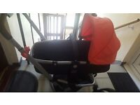 Mothercare Pushchair + Car seat + waterproof