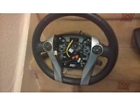 toyota prius leather steering wheel and cruise control switch 2010-2015