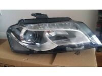 Audi A3 xenon headlight