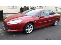 2007 Peugeot 407 GT 2.7 only 70000 mileage