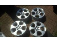 "18"" 5x112 Genuine Monza golf polo gti alloy wheels VW Golf Leon passat a4 a3"