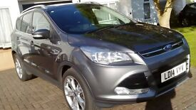 Ford kuga 2014 model in excellent condition and low mileage