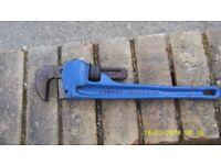 Irwin T300/14 Record 300 Stillson Wrench 14in 2nd Hand