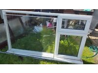 Used window with glass