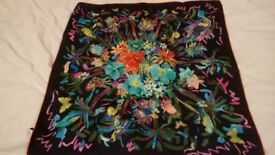 Beautiful Salvatore Ferragamo silk scarf