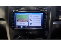 "8"" VW GOLF 5 6 T5 Car GPS Stereo Radio DVD sat nav 3g for POLO SHARAN SKODA UK"