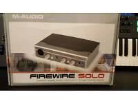 M audio FireWire Solo audio recording interface
