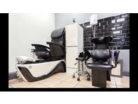 Nails Technician Bar/Unit for Rent in a very Busy Beauty Salon…Fully Equippe